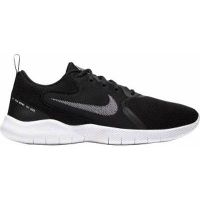 ナイキ メンズ スニーカー シューズ Nike Men's Flex Experience Run 10 Running Shoes Blac/White/Black