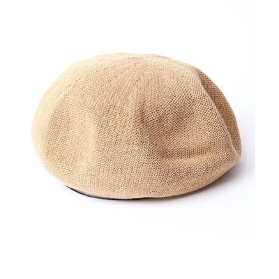 FUNALIVE / 【SENSE OF GRACE】YUYU BERET ベレー帽 WOMEN 帽子 > ハンチング/ベレー帽