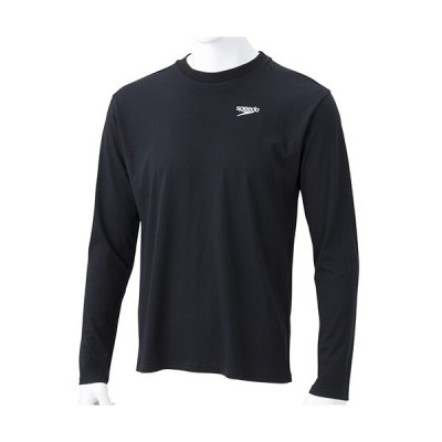 スピード(speedo) メンズ ロングスリーブ スタンダード Tシャツ L/S Standard Tee ブラック SA31911 K 長袖 トップス トレーニング スポーツウェア 普段使い