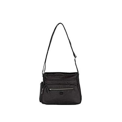 Lug Women's Shimmy 2 Crossbody Bag, Shimmer Black, One Size