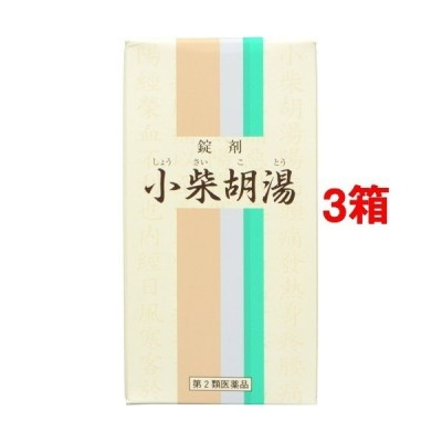 (第2類医薬品)一元 錠剤小柴胡湯 ( 350錠*3箱セット )