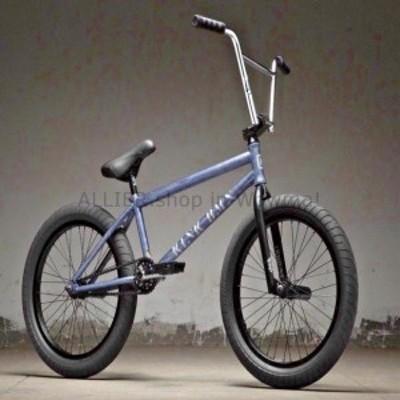 "BMX 2019キンクリバティー20 ""BMXバイクマットブラックスミスブルーコンプリートBMX自転車  2019 Kink Li"