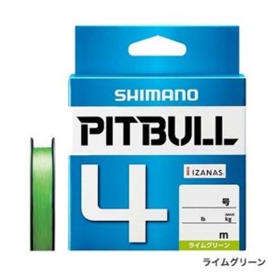 シマノ PL‐M74S PITBULL(ピットブル)4 300m 0.8号 ライムグリーン
