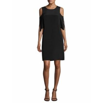 コビハルパーリン レディース ワンピース Saige Cold-Shoulder Silk Dress