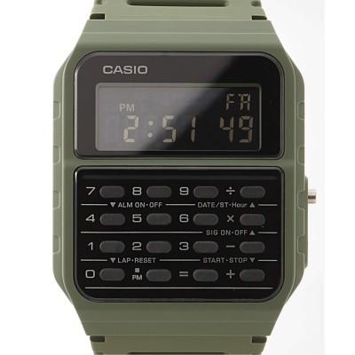 ヒロブ CASIO CA-53WF-3BJF【 ウォッチ 】 カーキ フリー