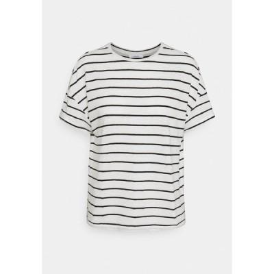 オーパス Tシャツ レディース トップス SILEIKA - Print T-shirt - white/black