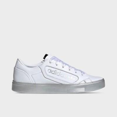 アディダス レディース シューズ adidas Originals Sleek Metallic スニーカー Cloud White/ Silver Metallic