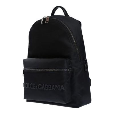 ドルチェ&ガッバーナ DOLCE & GABBANA メンズ バッグ Backpack & Fanny Pack Black