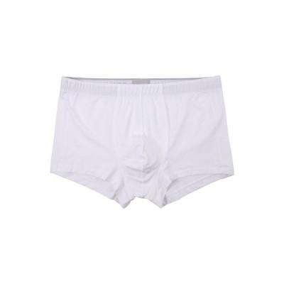 ハンロ メンズ ボクサーパンツ アンダーウェア Cotton Superior Boxer Brief