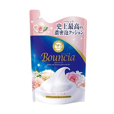 バウンシアボディソープ エアリーブーケの香り 詰替用・400mL × 4個セット