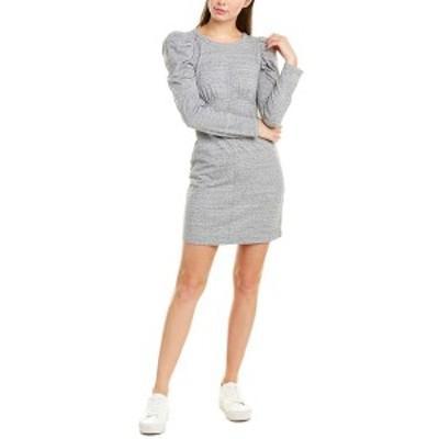ラヴィ レディース ワンピース トップス La Vie Rebecca Taylor Puff Sleeve Sheath Dress grey marl