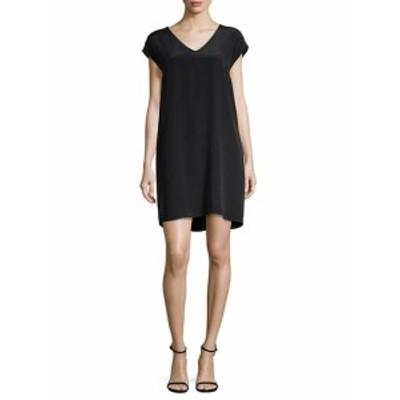 レオ&セージ レディース ワンピース Cap -Sleeve Silk Shift Dress