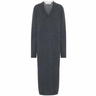 マルニ Marni レディース ワンピース ワンピース・ドレス Cashmere sweater dress