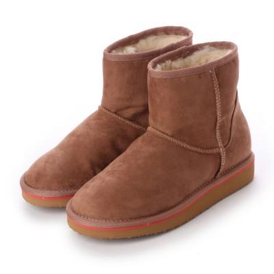 シューズラウンジ shoes lounge ショートブーツ 3650004PBG (ピンクベージュ)