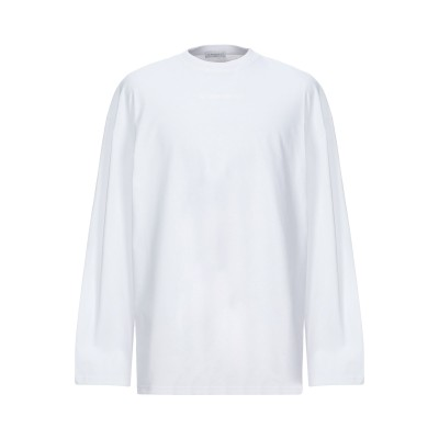 IH NOM UH NIT T シャツ ホワイト L コットン 100% / ポリウレタン T シャツ