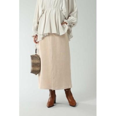ROSE BUD/ローズ バッド コーデュロイスカート ベージュ S