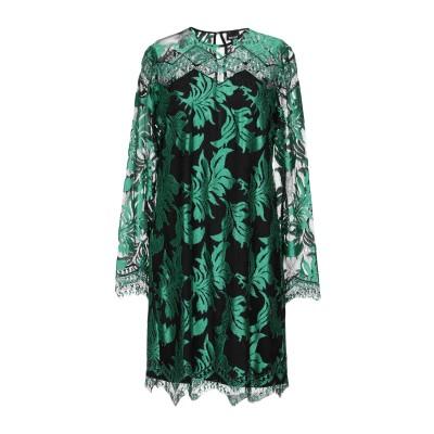 ジャストカヴァリ JUST CAVALLI ミニワンピース&ドレス グリーン 40 ポリエステル 100% / レーヨン ミニワンピース&ドレス