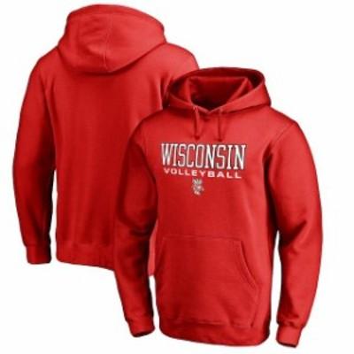 Fanatics Branded ファナティクス ブランド スポーツ用品  Fanatics Branded Wisconsin Badgers Red True Sport Volley