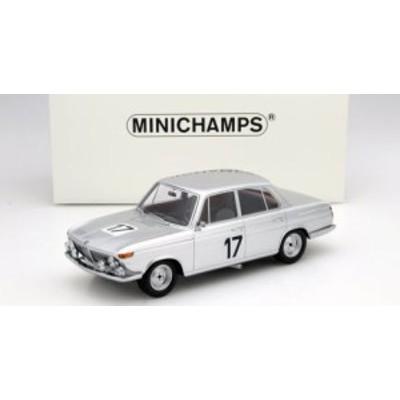 ミニチャンプス 107662517 1/18 BMW 2000 TI #17 ICKX/HAHNE 24H SPA ウィナーズ 1966