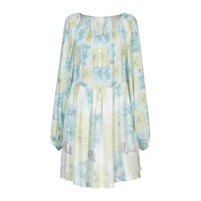 ノリータ NOLITA ミニワンピース&ドレス ターコイズブルー M レーヨン 100% ミニワンピース&ドレス