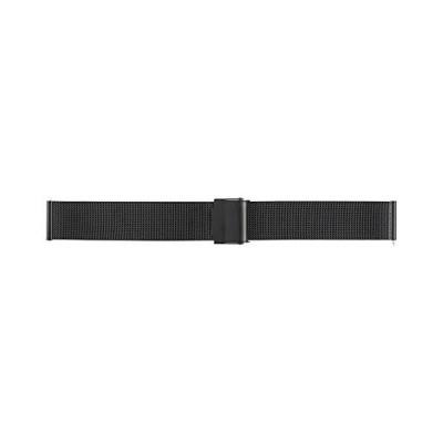 BAMBI バンビ 時計バンド メタルベルト ブラック 18mm カストル クイックレバー BSNL1252B