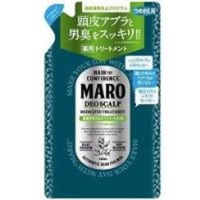 MARO 薬用デオスカルプトリートメント 詰替え 400ml  マーロ(men-02365-4582469490852)