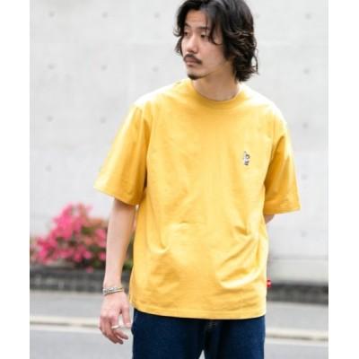 (URBAN RESEARCH Sonny Label/アーバンリサーチサニーレーベル レディス)SURFBEAR刺繍Tシャツ/メンズ イエロー