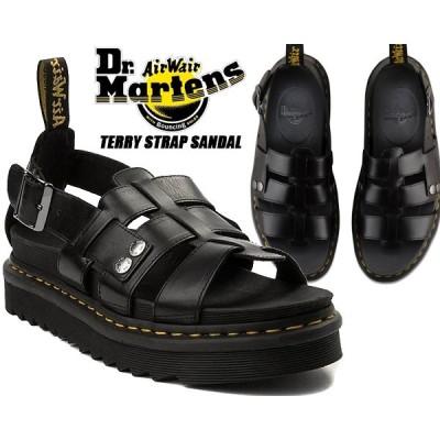 Dr.Martens TERRY STRAP SANDAL BLACK ZEBRILUS BRANDO 23521001 ZIGGY SOLE ドクターマーチン テリー ストラップ サンダル ジギーソール グラディエーター 厚底