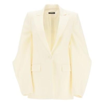 WANDERING/ワンダリング White Wandering jacket with balloon sleeves レディース 秋冬2020 WGW20102 ik