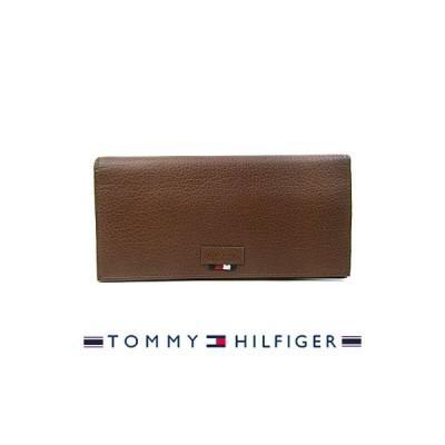 トミーヒルフィガー 財布 TOMMY HILFIGER 長財布 メンズ Gus 31TL190002 TAN