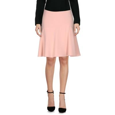 NATAN ひざ丈スカート ピンク 36 63% ポリエステル 32% レーヨン 5% ポリウレタン ひざ丈スカート