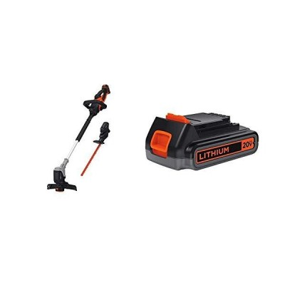 BLACK+DECKER 20V MAX Interchangeable System Kit with Extra Lithium Battery 2.0 Amp Hour (BCASK890E1 & LBXR2020-OPE)送料無料