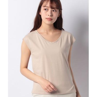 【ノエラ】 サマーカラーTシャツ レディース ベージュ F Noela