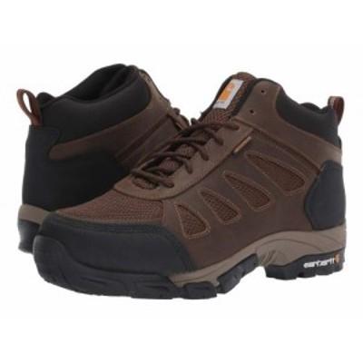 Carhartt カーハート メンズ 男性用 シューズ 靴 ブーツ ワークブーツ Lightweight Waterproof Work Hiker Non-Safety Brown【送料無料】