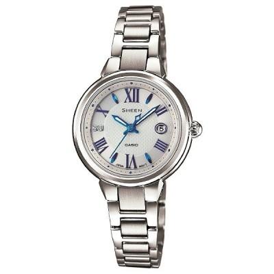 カシオ シーン CASIO SHEEN ソーラー  レディース 腕時計 SHE-4516SBY-7AJF(入荷後、3営業日以内に発送)
