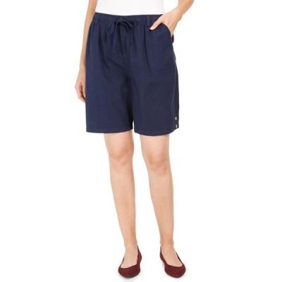 ケレンスコット レディース ハーフパンツ・ショーツ ボトムス Cotton Drawstring Shorts