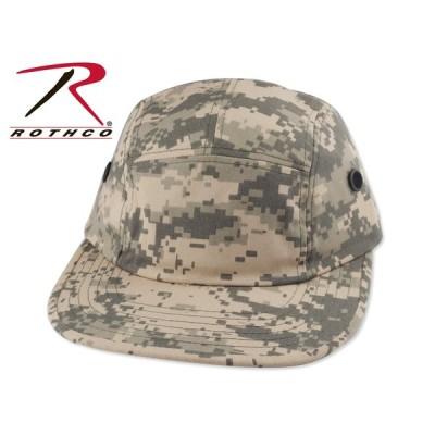☆ROTHCO【ロスコ】5 Panel Military Street Cap DIGITAL CAMO 5パネル ミリタリーキャップ デジタルカモ 17825[迷彩 メンズ レディース]