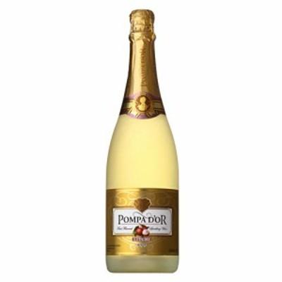 スパークリングワイン ポンパドール ライチ 750ml 正規品 sparkling wine ギフト