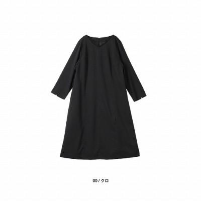 【30%OFF】襟元レースワンピース【LL―5L】(フルールバイミントブリーズ/fleur by mint breeze)