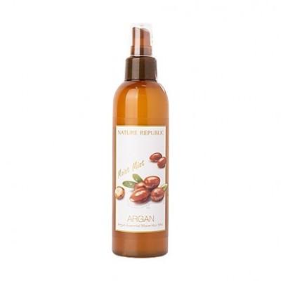 Nature Republic Argan Essential Moist Hair Mist 220ml/ [ネイチャーリパブリック] アルガン エッセンシャル 水分 ヘアミスト 220ml