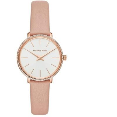 [9/13-15 の3日間paypayボーナス+5%] マイケルコース 腕時計 レディース ホワイト ピンク MK2803 MICHAEL KORS