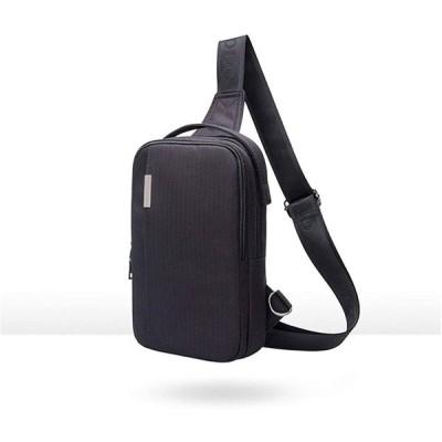 Kayalu ワンショルダーバッグ ボディバッグ 斜め掛け 肩掛け 裏ポケット付き 大容量 7.9インチiPad収納可能 軽量バッグ 通勤通