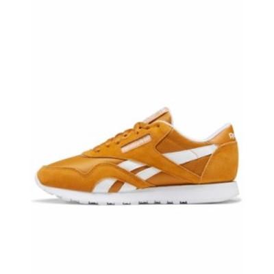 リーボック レディース スニーカー シューズ Reebok Classic Nylon Sneakers In Orange Orange