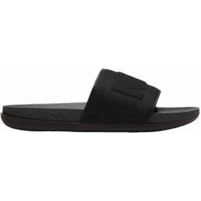 ナイキ メンズ サンダル シューズ Nike Men's OffCourt Slides Anthracite/Black
