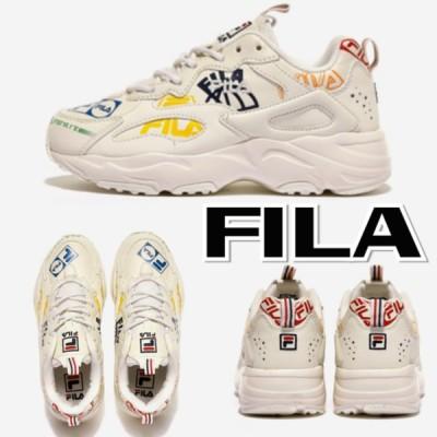 FILA フィラ 新作 ロゴ レイトレーサー グラフィック スニーカー メンズ レディース