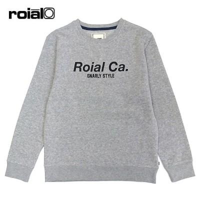 ROIAL メンズ スウェット トレーナー 20FBFL01 H.Gray 正規品