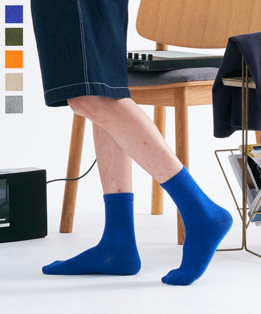 棉質中筒襪