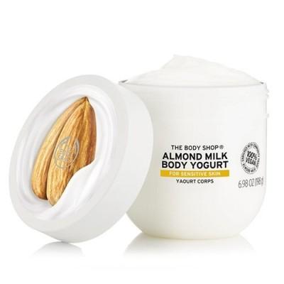 THE BODY SHOP ザ・ボディショップ ボディヨーグルト アーモンドミルク 200ml【正規品】