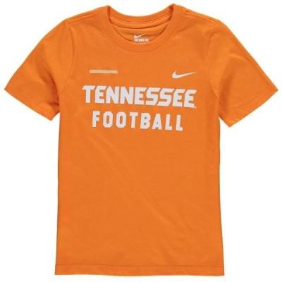 キッズ スポーツリーグ アメリカ大学スポーツ Tennessee Volunteers Nike Youth Core Facility T-Shirt - Tennessee Orange Tシャツ