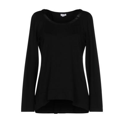 スプレンディド SPLENDID T シャツ ブラック M 指定外繊維(テンセル)® 92% / ポリウレタン 8% / ポリウレタン T シャツ